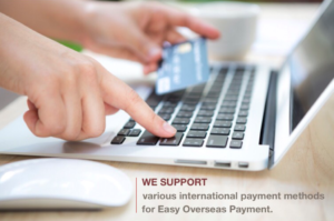 Our Payment Methods | Japan Buying Agent